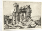 First glance at the Baths of Caracalla by Hieronymus Cock