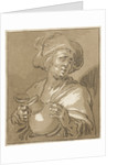 Man with pitcher by Abraham Bloemaert