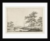 Landscape with boat by Hermanus Fock