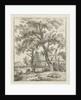 Farm and shepherd by Hermanus Fock