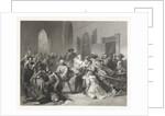 Attack of Jean de Jauregui on Prince William I, March 18, 1582 by Johann Wilhelm Kaiser I