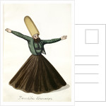 Derviche-tourneur by Mahmud II