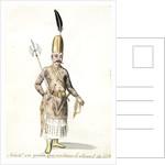 Solak, ou garde qui entoure le cheval de G by Mahmud II