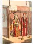 Jewish marriage, Travels through Turkey 1862 by Henry J. Van Lennep