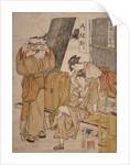 Oyasumi-dokoro, Roadside tea-stall by Utamaro Kitagawa
