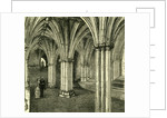 Glasgow Cathedral 1880 the Crypt by Anonymous