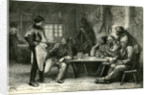 Canada 19th Century Woodcutters Lumberjackers Tree Fellers Having Diner by Anonymous