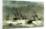 Lapland Wrecks 1867 on the Coast Caused by the Ice in the White Sea Destruction Suffering Crew by Anonymous