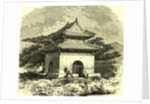 Kiosk at Beijing 1866 China by Anonymous