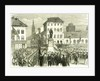 Antwerp Belgium Inauguration of the Statue of Teniers 1867 Antwerpen Anvers by Anonymous