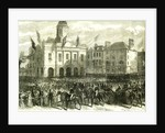 Kelso UK 1867 the Queen's Visit to the Scottish Border. Reception of Her Majesty in the Market Square Great Britain by Anonymous