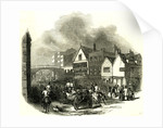 Chester UK 1846 Lower Bridge Street. The Cup Day by Anonymous
