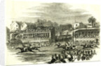 Chester UK 1846 Chester Races. The Race for the Cup by Anonymous