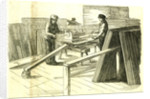 Hyde Park London 1850. Painting Machine. The Great Exhibition by Anonymous