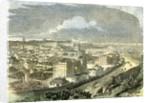 Edinburgh UK 19th Century View Calton Hill Scotland by Anonymous