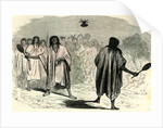 Ball Game with the Conibos Peru 1869 by Anonymous