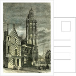 Church of Verneuil France 1848 by Anonymous