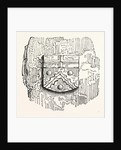 Arms St. John's Priory Sir J. Dockwra, St. John's Gate, London by Anonymous