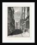 Butcher Row, Temple Bar, London by Anonymous