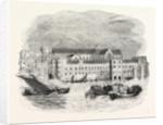 Savoy Palace 1661, Visscher's London, London by Anonymous