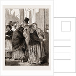 Before The Lottery Office, Vienna Austria 1873 by Anonymous