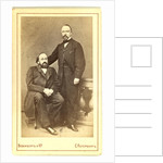 Konstantin Nikolaevich Leontev and Mikhail Nikiforovich Katkov by Anonymous