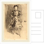 Elinor Leyland, 1873 by James McNeill Whistler