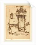 Chapel Doorway, Montresor, 1888 by James McNeill Whistler