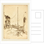 The Little Mast, 1880 by James McNeill Whistler
