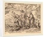 The Diligent Worker United with Christ after Death, 1572 by Philip Galle