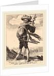 Colonel, 1587 by Jacques de Gheyn II