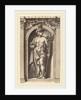 Mercury, probably 1592 by Hendrik Goltzius
