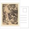 The Annunciation, 1594 by Hendrik Goltzius