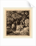 Four Figures under a Tree by Allart van Everdingen