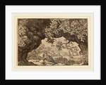View through a Pierced Rock by Allart van Everdingen