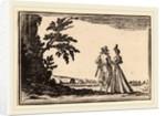 The Promenade, 1621 by Edouard Eckman