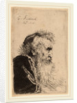 Bust of an Old Man in Profile, Facing Right, 1638 by Salomon Koninck