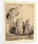 Three Oriental Figures, 1641 by Rembrandt van Rijn