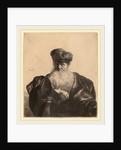 Old Man with Beard, Fur Cap, and Velvet Cloak, c. 1632 by Rembrandt van Rijn