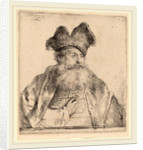 Old Man with a Divided Fur Cap, 1640 by Rembrandt van Rijn