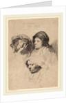 Three Heads of Women, One Asleep, 1637 by Rembrandt van Rijn
