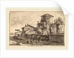 Tomb on the Via Appia by Herman van Swanevelt