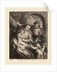 The Holy Family with the Goldfinch by Schelte Adams Bolswert