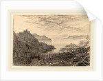 View of a Bay from a Hillside by Edward Lear