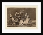 Disparate femenino by Francisco de Goya