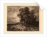 Trees in a Storm by Alexandre Calame