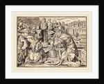 Christ Tells His Disciples of the Last Judgment, Swiss by Christoph Murer