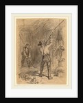 Man Flailing by Felix Octavius Carr Darley