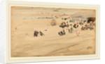Beach Scene by James McNeill Whistler
