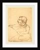 Eastman Johnson Sketching by Emanuel Gottlieb Leutze